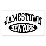 Jamestown New York Sticker (Rectangle)