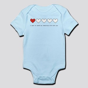 Spend My Remaining Life With Infant Bodysuit
