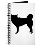 Siberian Husky Silhouette Journal