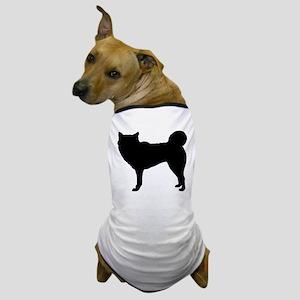 Siberian Husky Silhouette Dog T-Shirt