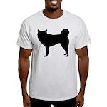 Siberian Husky Silhouette Light T-Shirt