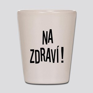 Na Zdravi Shot Glass