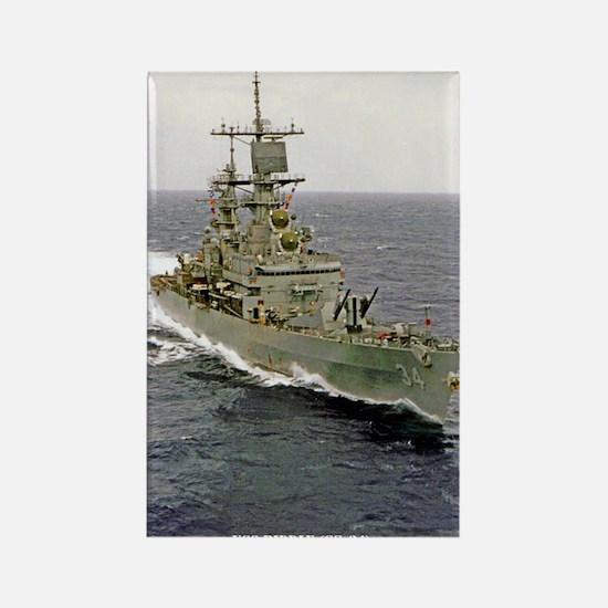 USS BIDDLE Rectangle Magnet