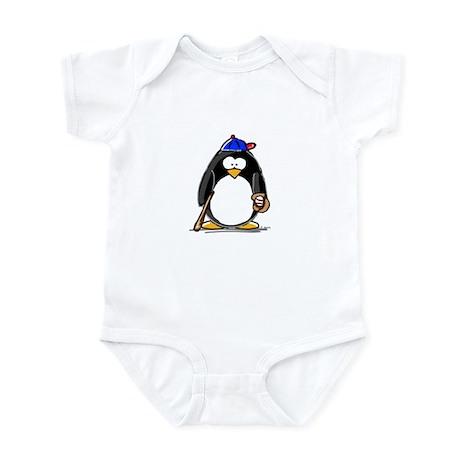 Baseball penguin Infant Creeper