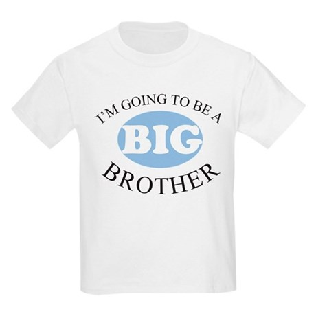 Going To Be A Big Brother Kids Light T-Shirt