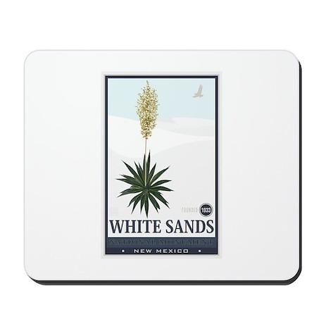 National Parks - White Sands 2 1 Mousepad