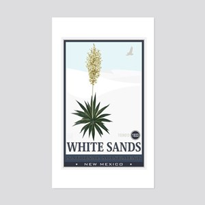 National Parks - White Sands 2 1 Sticker (Rectangl