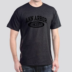 Ann Arbor Michigan Dark T-Shirt