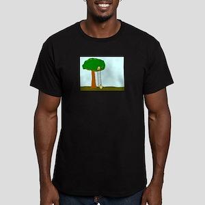 Imitating Bird Men's Fitted T-Shirt (dark)