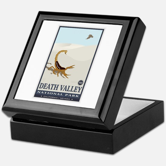 National Parks - Death Valley 2 Keepsake Box