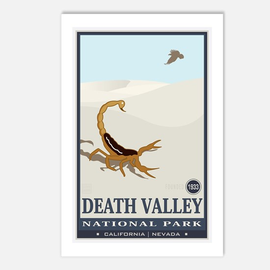 National Parks - Death Valley 2 Postcards (Package