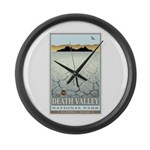 National Parks - Death Valley 3 Large Wall Clock