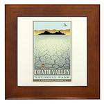 National Parks - Death Valley 3 Framed Tile