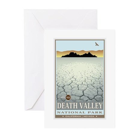 National Parks - Death Valley 3 Greeting Cards (Pk