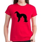 Irish Setter Silhouette Women's Dark T-Shirt