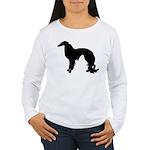 Irish Setter Silhouette Women's Long Sleeve T-Shir
