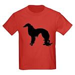 Irish Setter Silhouette Kids Dark T-Shirt