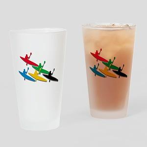 Canoe Kayak Drinking Glass