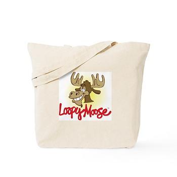 Loopy Moose Tote Bag