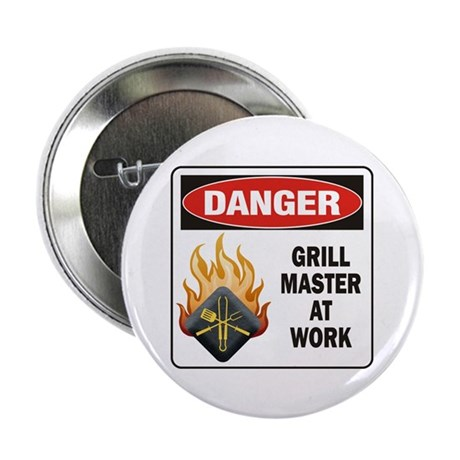 "Grill Master 2.25"" Button (100 pack)"