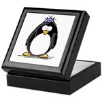 Princess penguin Keepsake Box