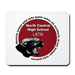 Panther Latin Mousepad