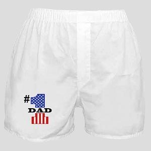#1 Dad Boxer Shorts