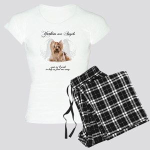 Angel Yorkie Women's Light Pajamas