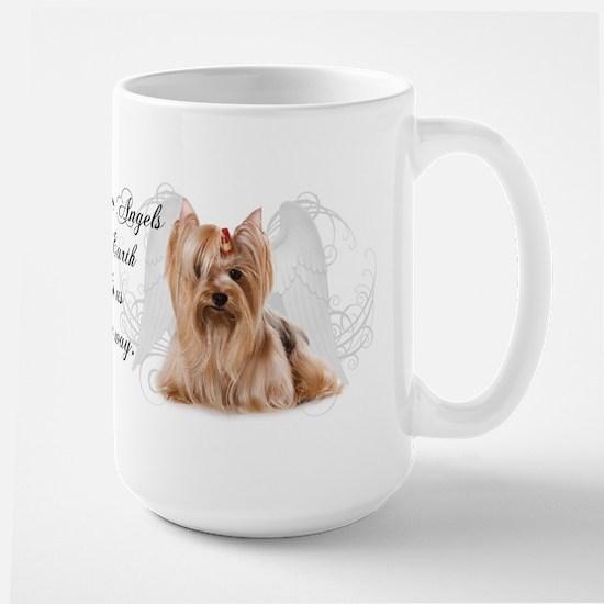 Angel Yorkie Large Mug