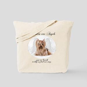 Angel Yorkie Tote Bag