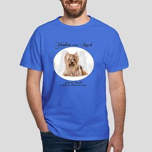Angel Yorkie Dark T-Shirt