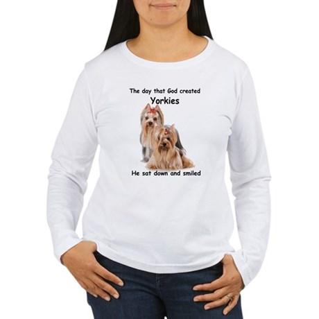 Yorkie Women's Long Sleeve T-Shirt