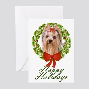Yorkie Holiday Cards (Pk of 20)