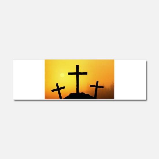 Crosses Car Magnet 10 x 3