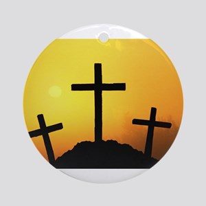 Crosses Ornament (Round)