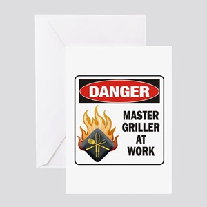 Master Griller Greeting Card