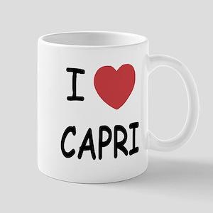 I heart capri Mug