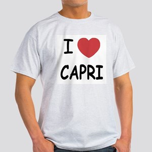 I heart capri Light T-Shirt