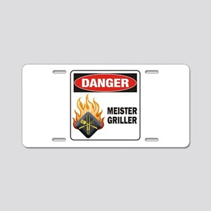 Meister Griller Aluminum License Plate