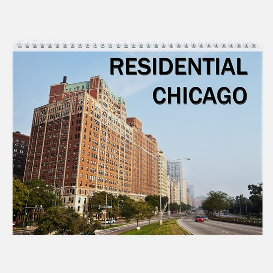 Residential Chicago Wall Calendar