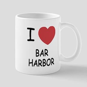 I heart bar harbor Mug