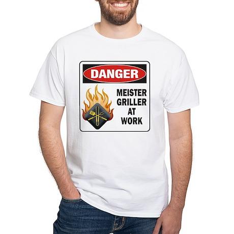 Meister Griller White T-Shirt
