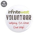 """Infinite West 3.5"""" Button (10 pack)"""