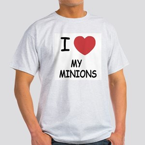I heart my minions Light T-Shirt
