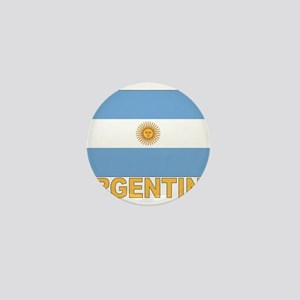 Argentina Flag Mini Button