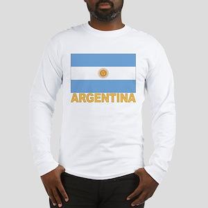 Argentina Flag Long Sleeve T-Shirt