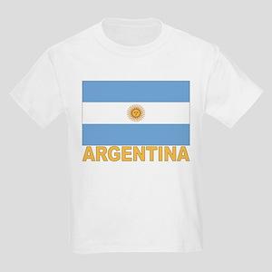 Argentina Flag Kids T-Shirt
