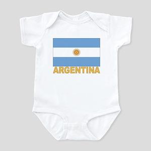 Argentina Flag Infant Creeper