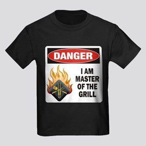 Grill Master Kids Dark T-Shirt
