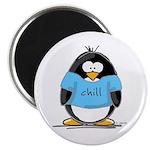 Chill penguin Magnet